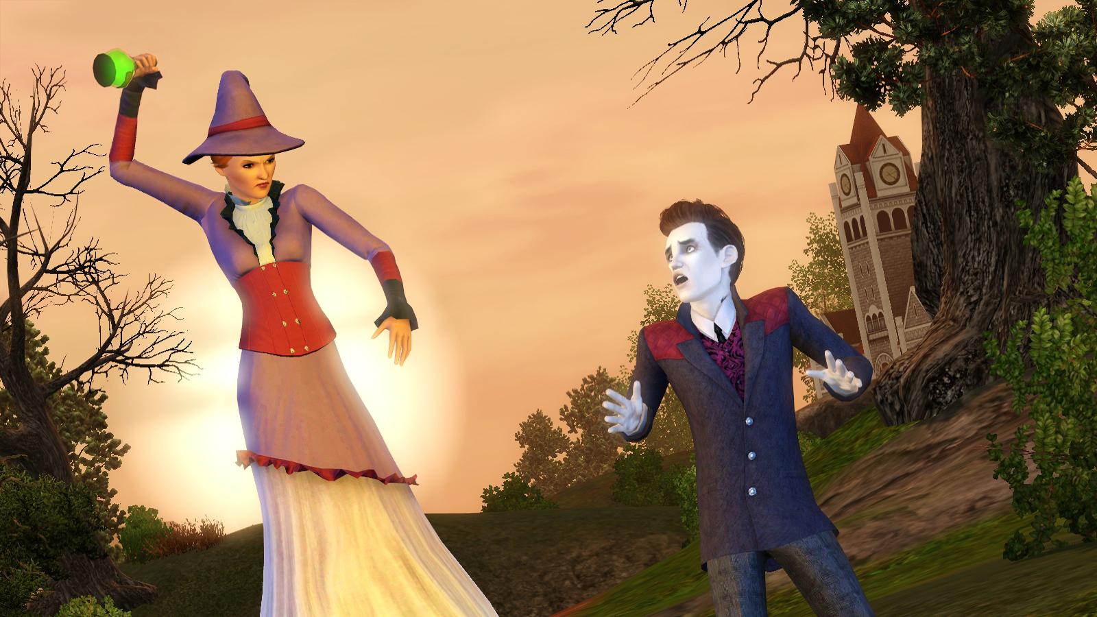Сезонные праздники в The Sims 3 Времена года 81